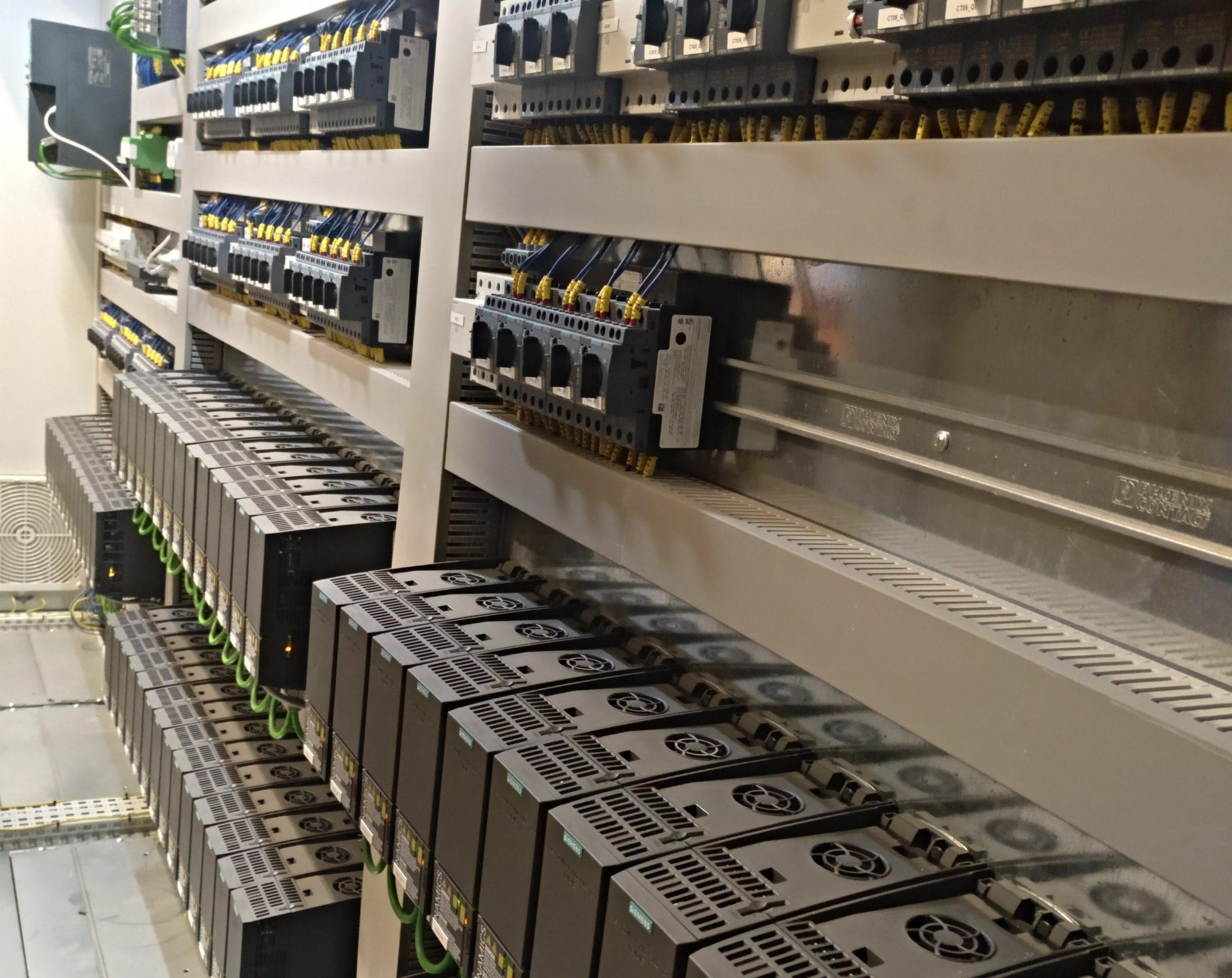 Cuadro potencia y control Siemens